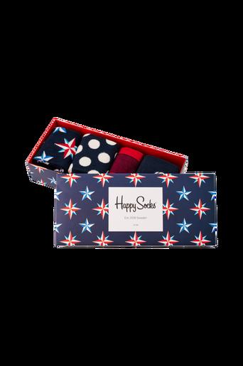 Lahjapakkaus Nautical Gift Box, 4 paria