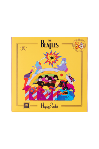 The Beatles Socks Box Set -sukkalahjapakkaus, 3/pakk.