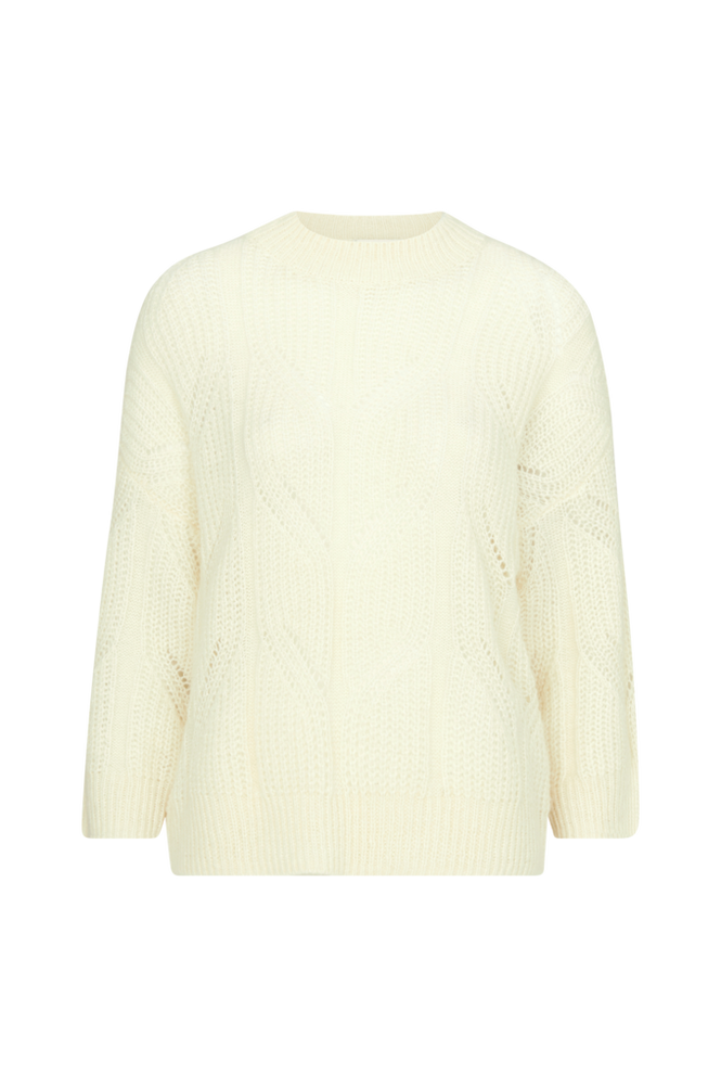 Second Female Trøje Pomme Knit O-neck