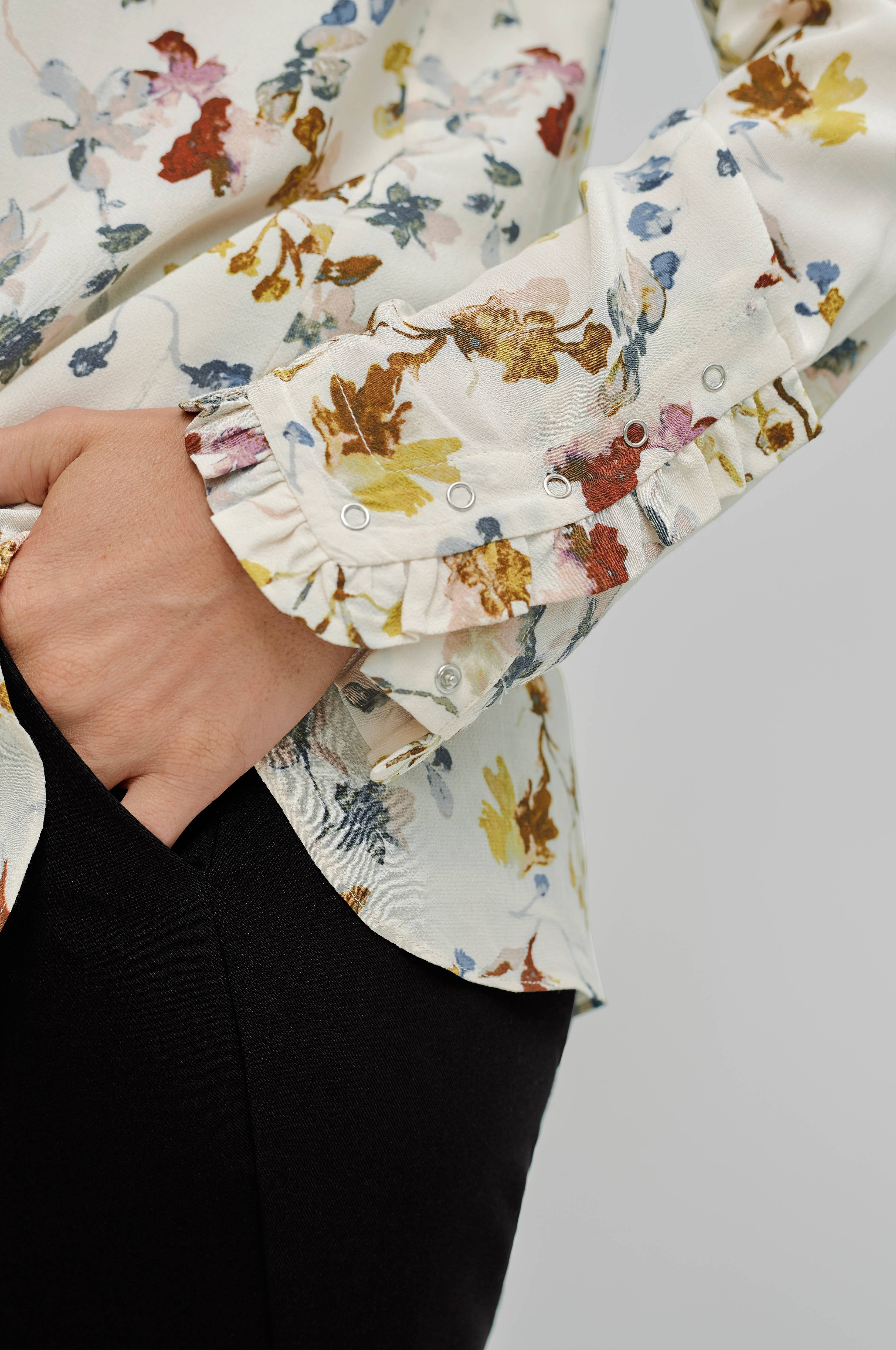 Second Female Skjorte Scarlet Hvit Skjorter Ellos.no