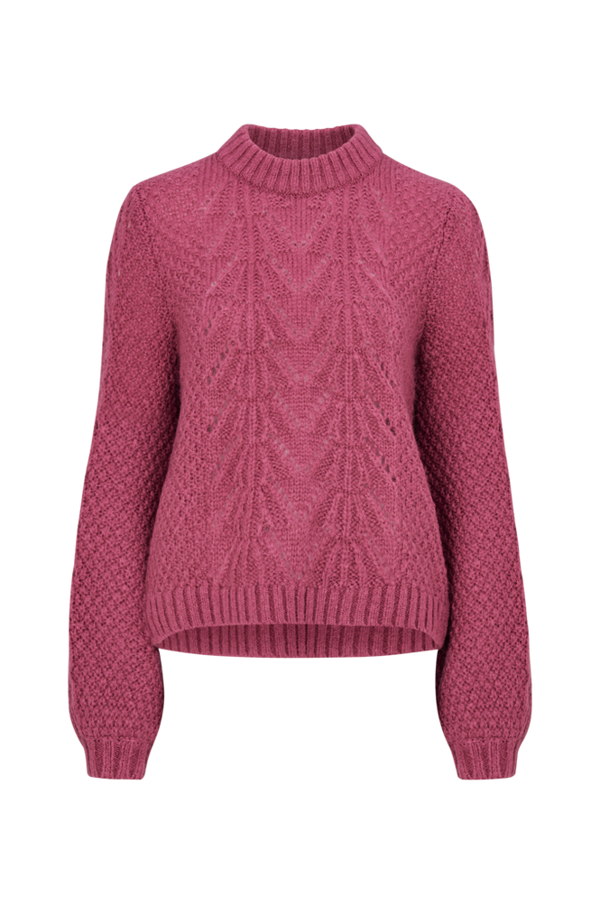 Second Female Trøje Tali Knit O-neck