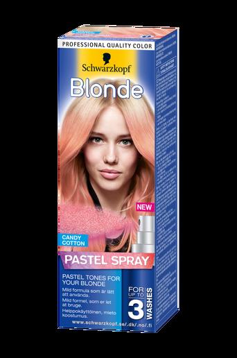 Blonde Pastel spray Cotton Candy