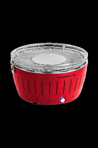Savuttamaton puuhiiligrilli 43,5 cm, Punainen