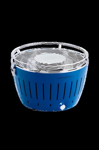 Savuttamaton puuhiiligrilli 34 cm, sininen
