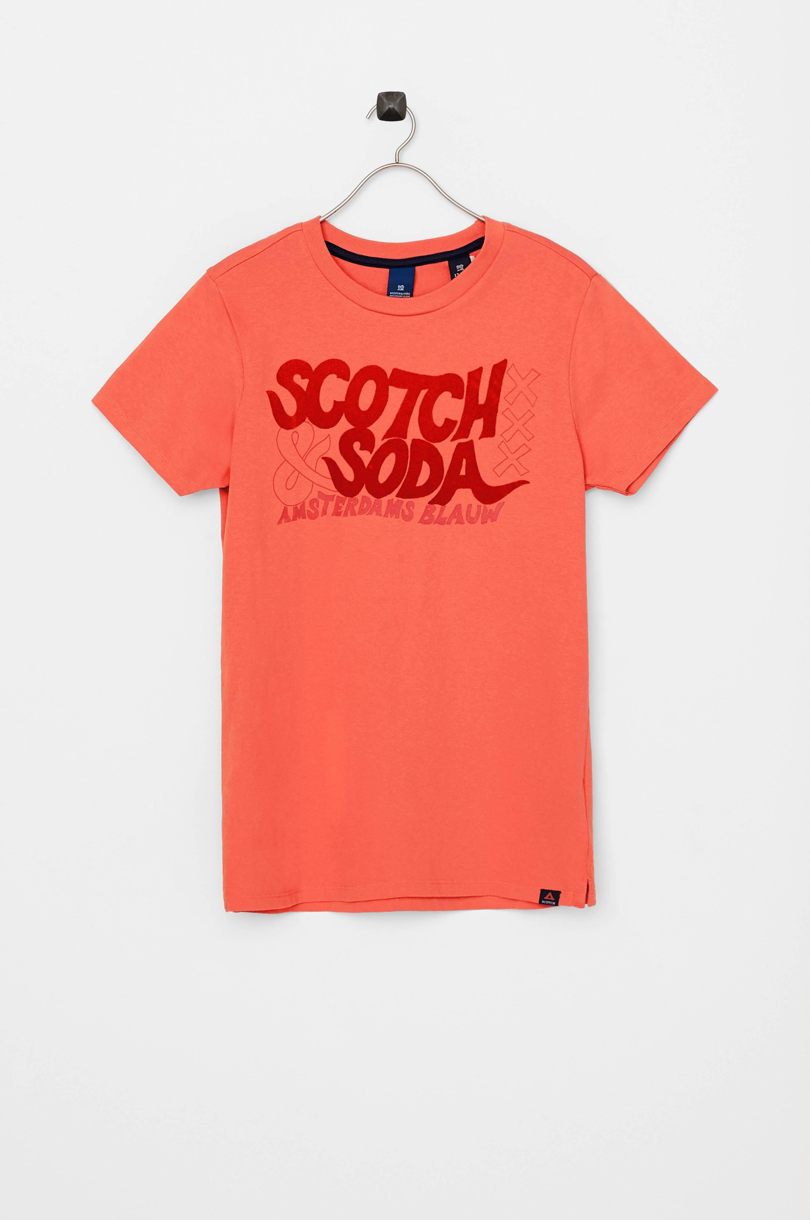 Shrunk Shrunk T T T med Ellos Barn Rød Scotch no fløyelstrykk shirt Cd4dwq5