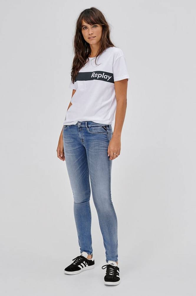 Replay Jeans Luz Hyperflex Skinny