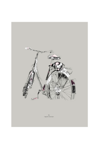 Blombud-juliste 30 x 40 cm
