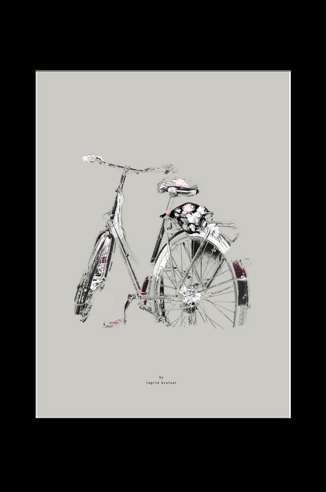 Bilde av Poster Blombud 30x40 cm