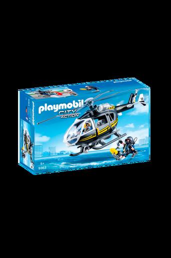 City Action - poliisin erikoisryhmän helikopteri