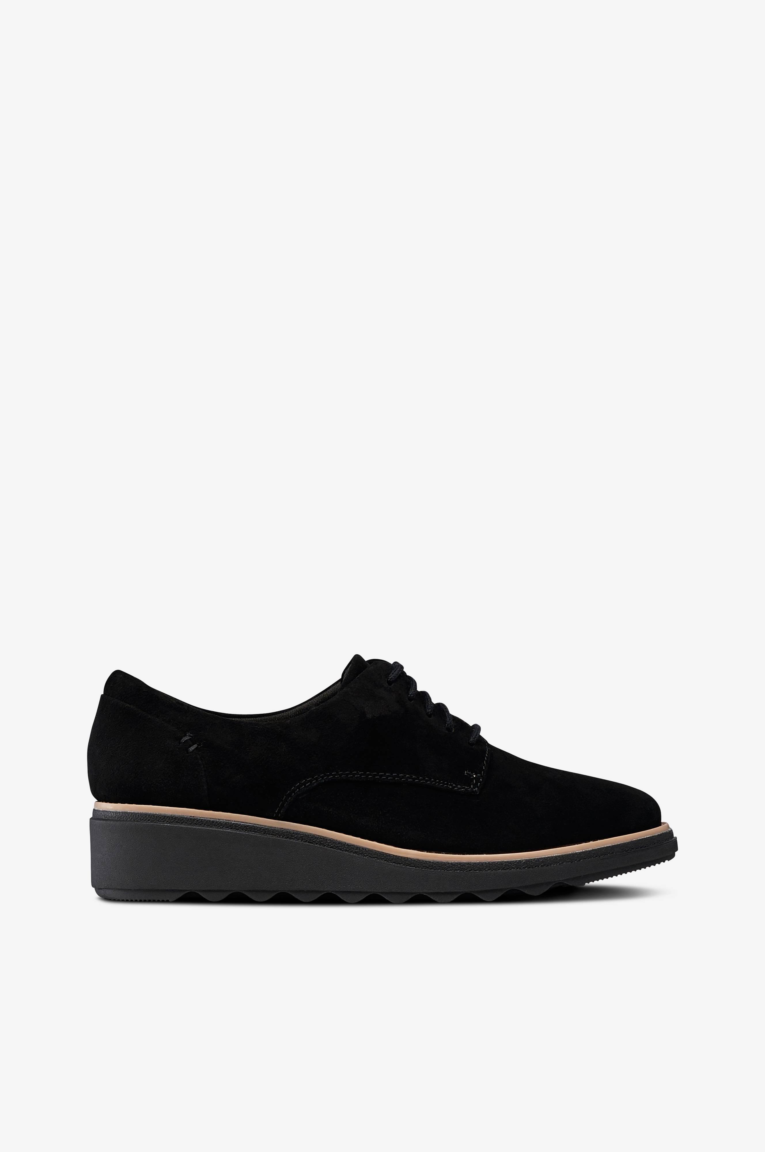 Clarks Sharon Noel -kengät - Musta - Naiset - Ellos.fi 26b5800f5c