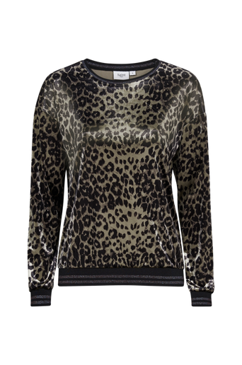 Animal Velvet Sweater samettipusero
