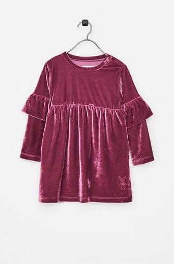 Hella Dress -samettimekko