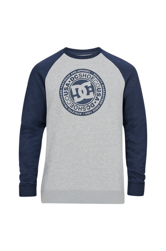 Circle Star Crew Raglan -collegepusero