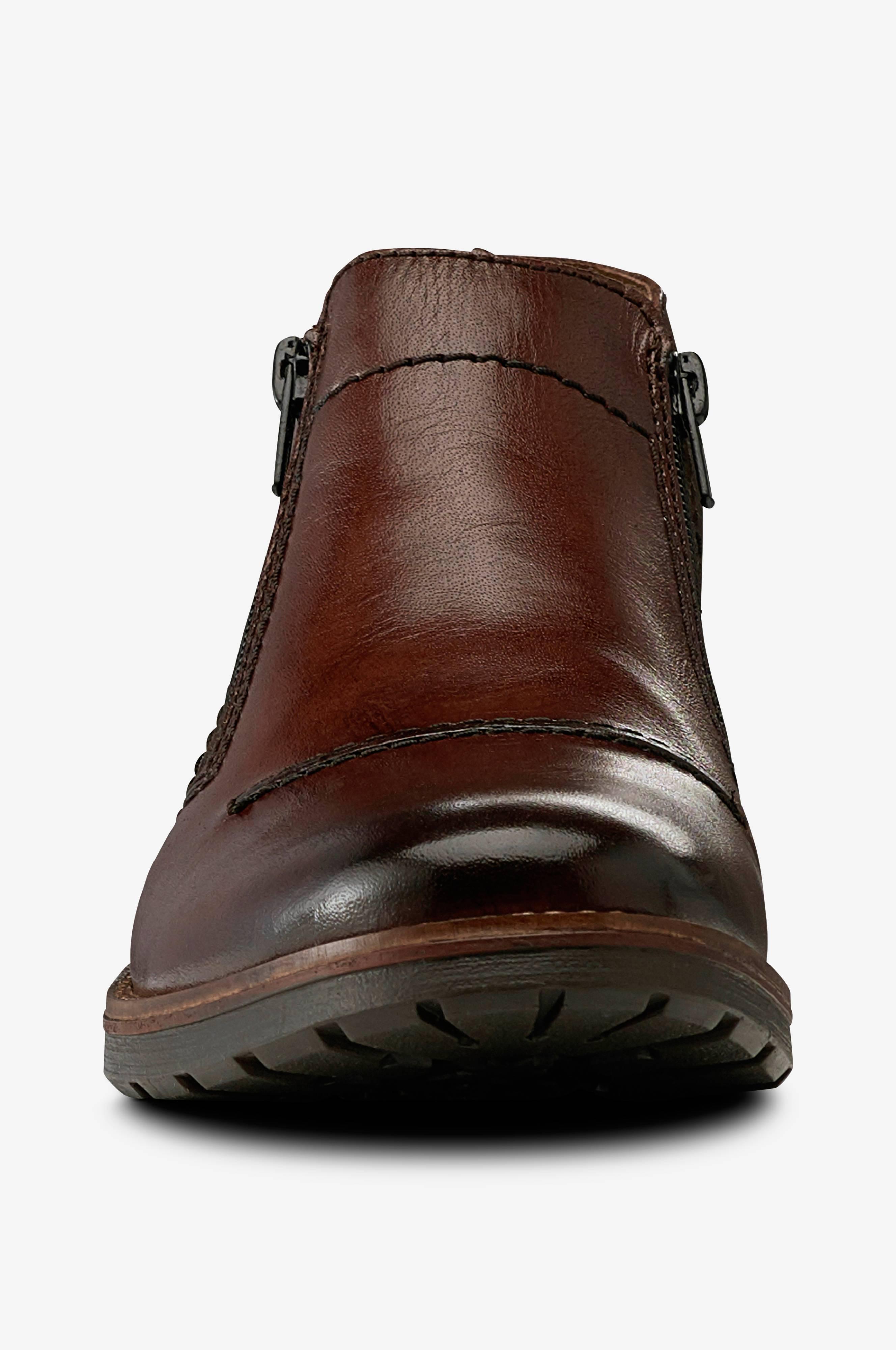 Rieker Boots, varmfodrade i ull Brun Boots Ellos.se