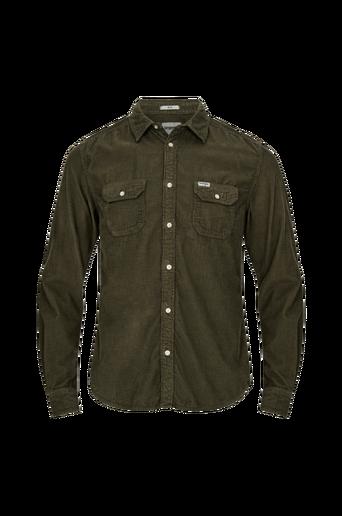 LS 2pkt Flap Shirt -kauluspaita