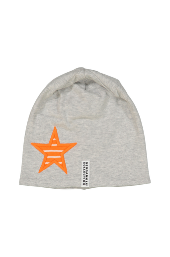 Star Cap L. Grey Mini 0-2m