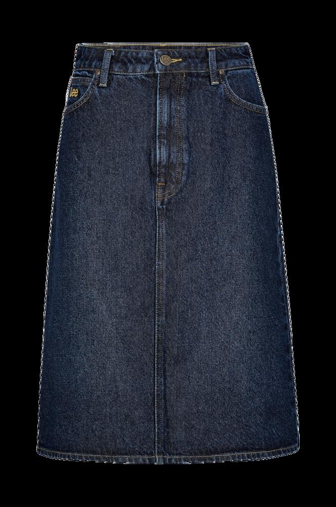 Lee Denimnederdel Long A Line Skirt
