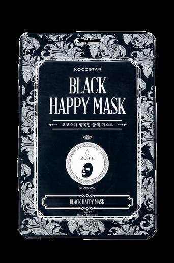 Black Happy Mask