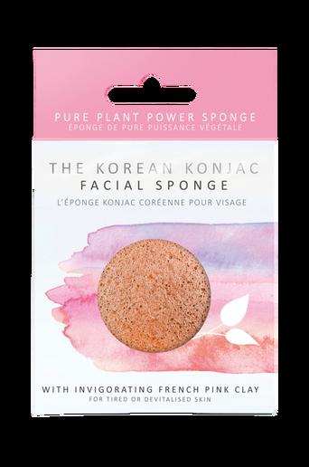 Premium Pink Clay Sponge