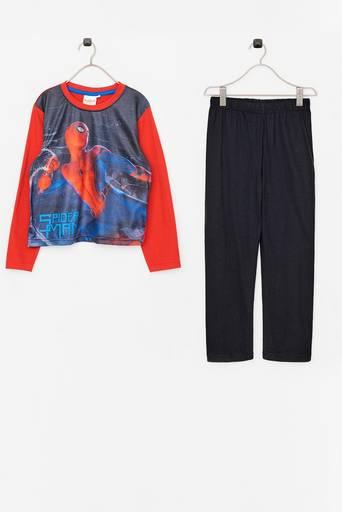 LS Pyjama Spider-Man -pyjama, 2 osaa