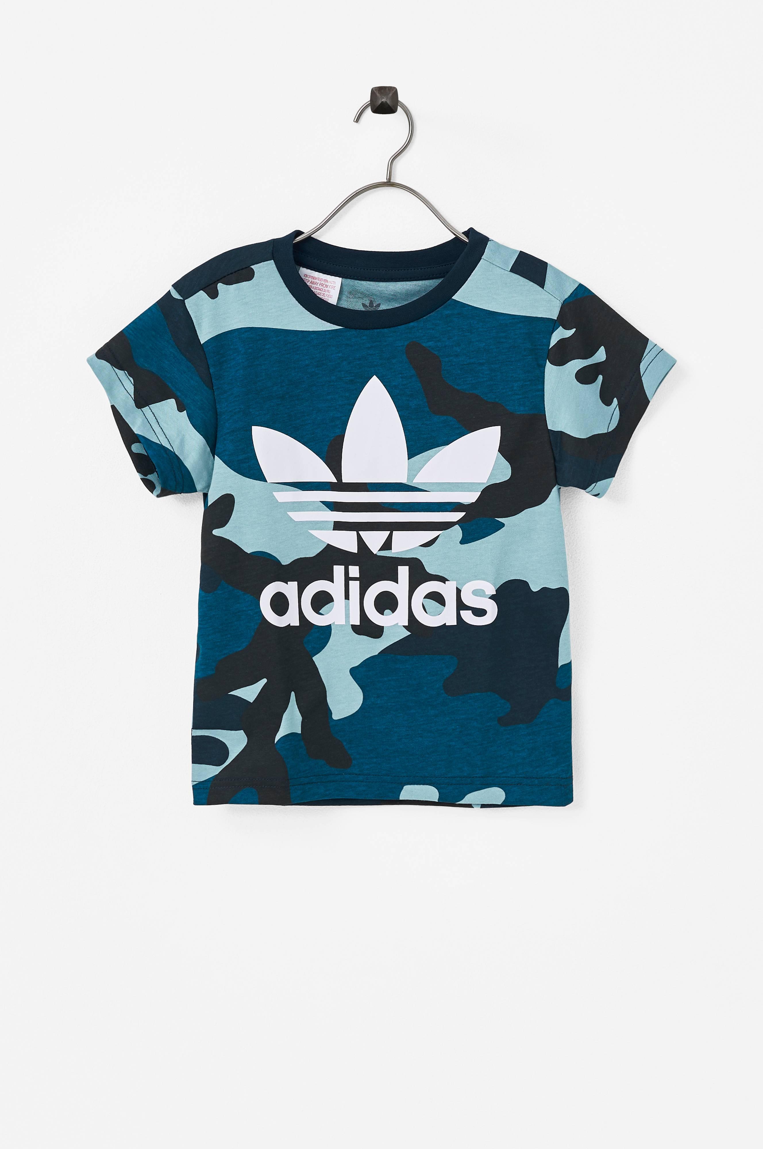 adidas Originals Barn T Skjorte Camo MulticolorWhite
