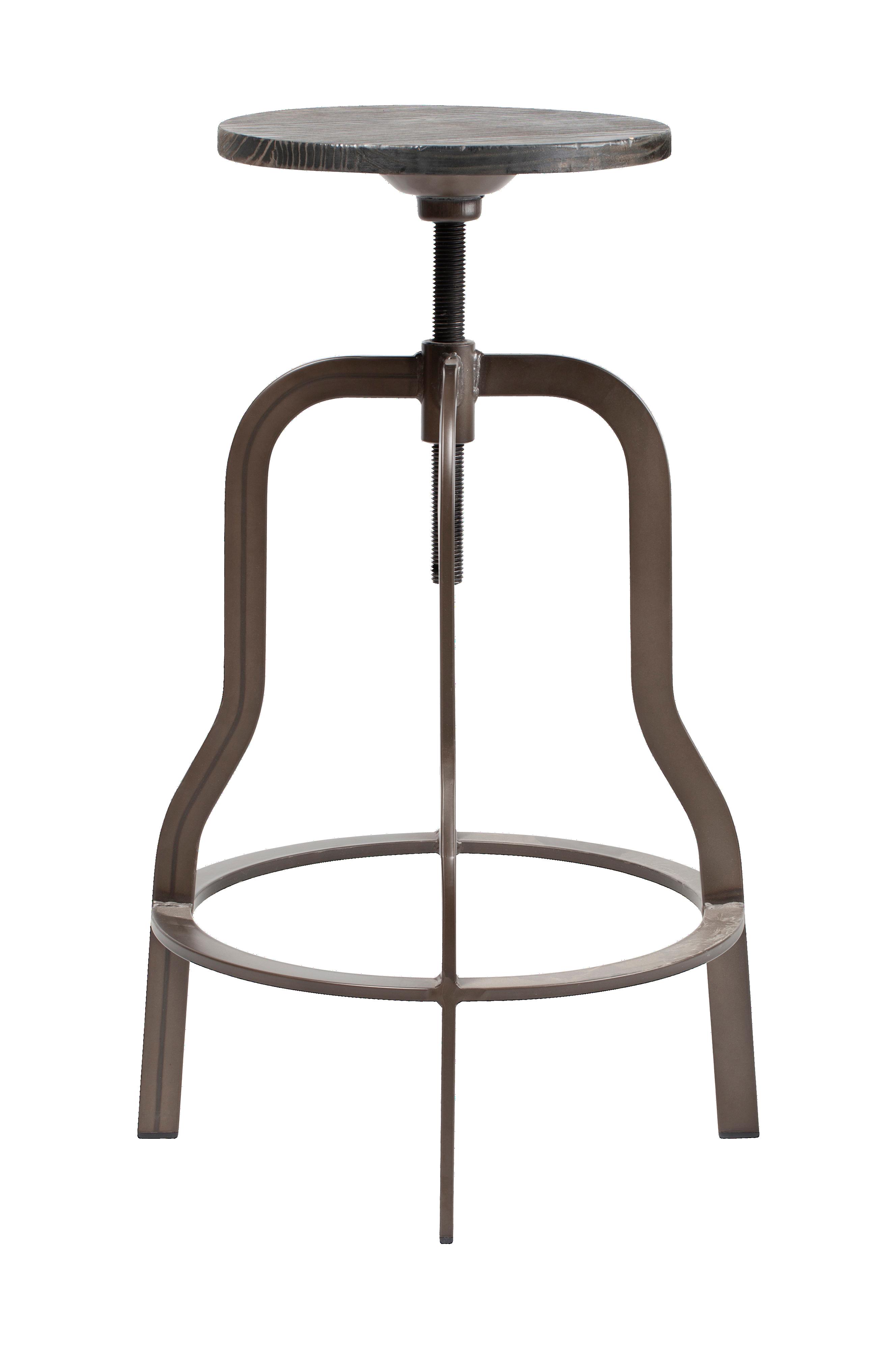 RGE Vegas Barstol i 2 pk, 67 77 cm Svart Møbler Homeroom