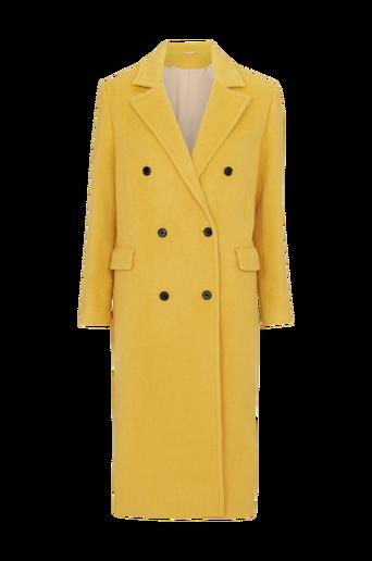 Amaris Fluffy Wool Coat -takki