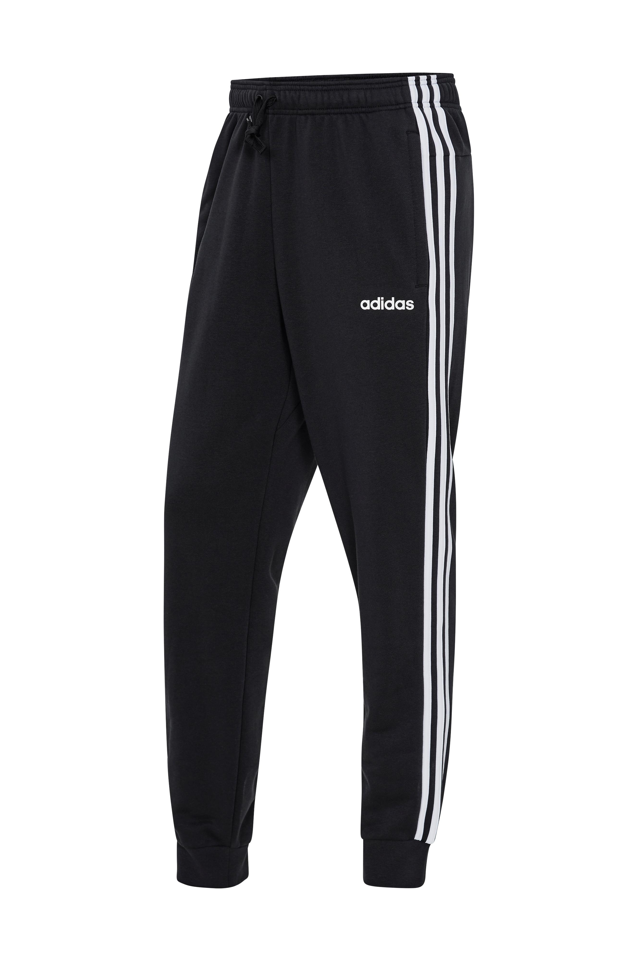 adidas Sport Performance Essentials 3 stripes Tapered Cuffed Pants  treenihousut - Musta - Miehet - Ellos.fi a0d4f41c5d