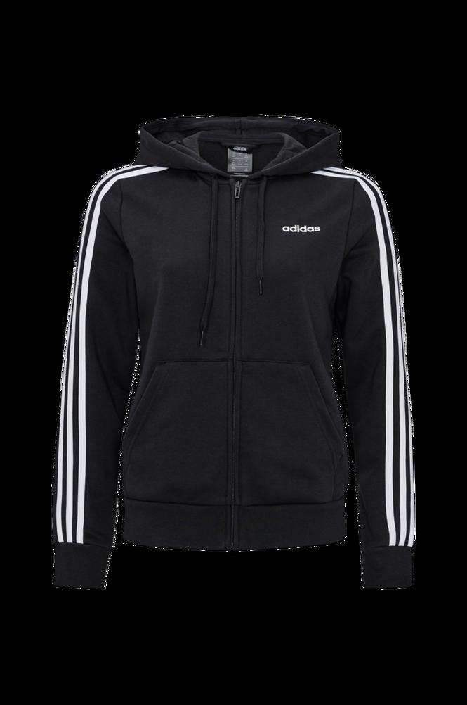 adidas Sport Performance Hættetrøje Essentials 3-stripes Full Zip Hoodie