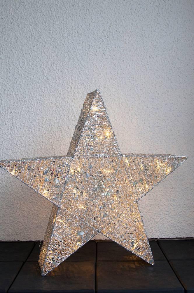 Dekorativ Stjärna 70cm LED