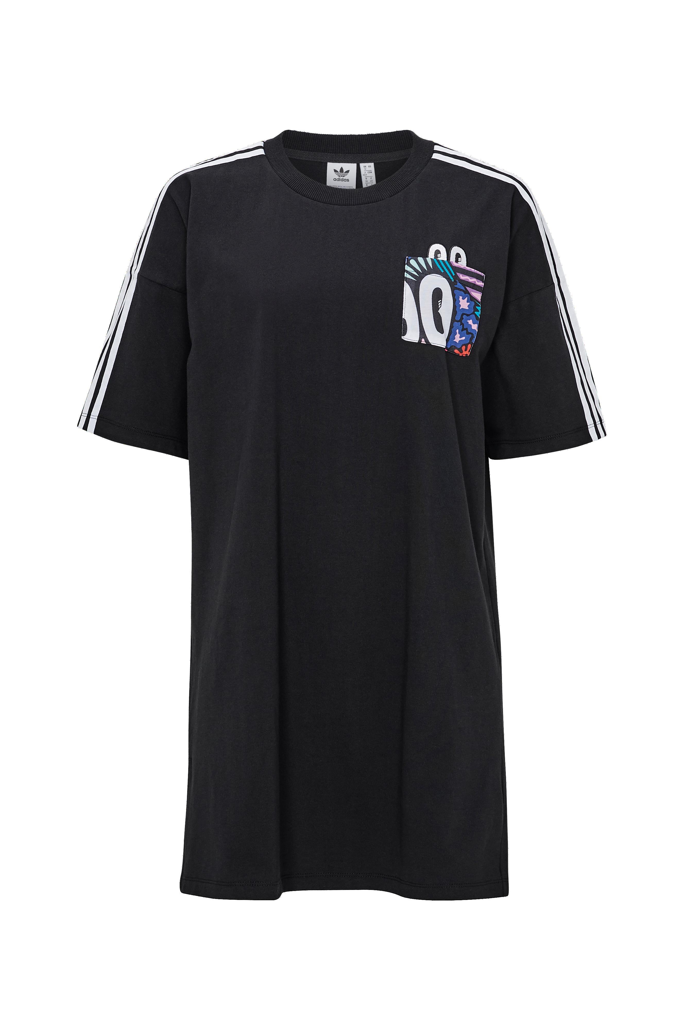9f1a3d1a adidas Originals Kjole Trefoil Dress - Sort - Dame - Ellos.dk