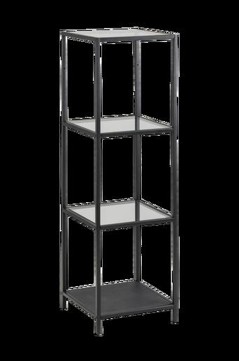 Agust hyllykkö, korkeus 119 cm