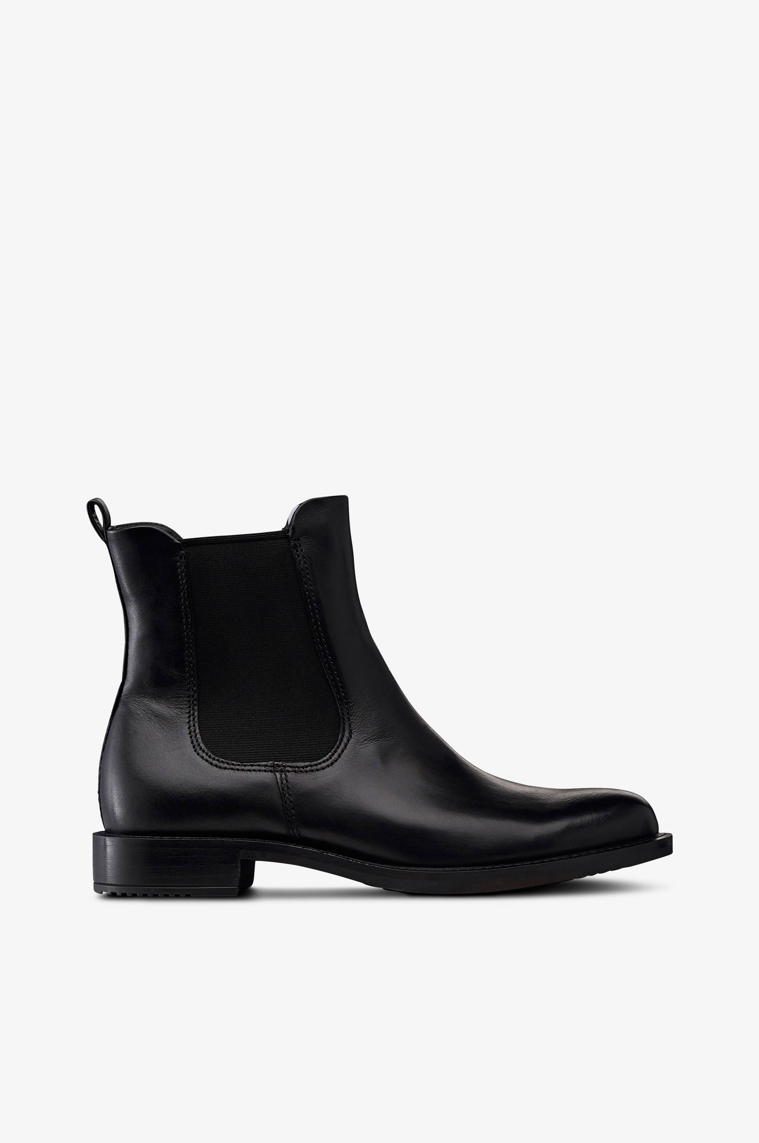 ecco Chelsea boots Shape 25 Sort Dame Ellos.dk