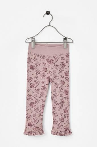 Baby Basic Flower -leggingsit