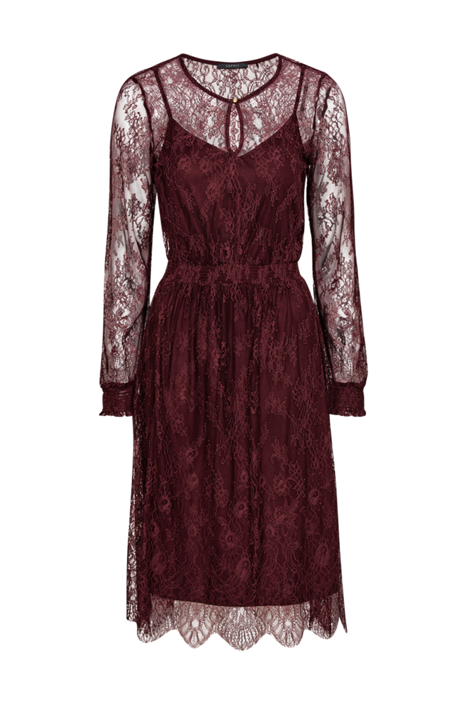 Esprit Blondekjole Fine Lace Dress