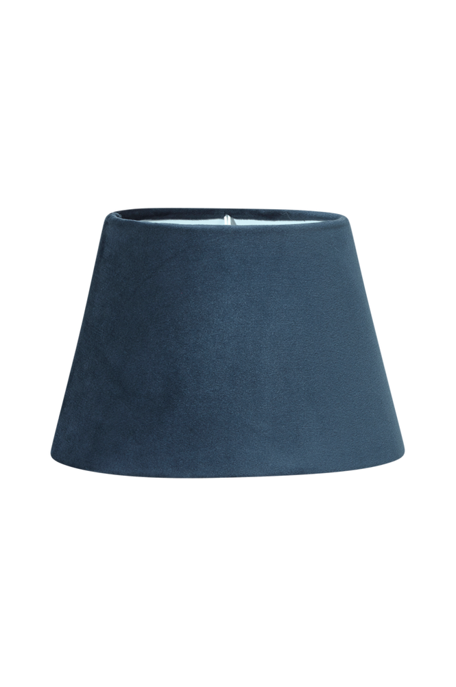 Lampskärm Oval Sammet 20 cm