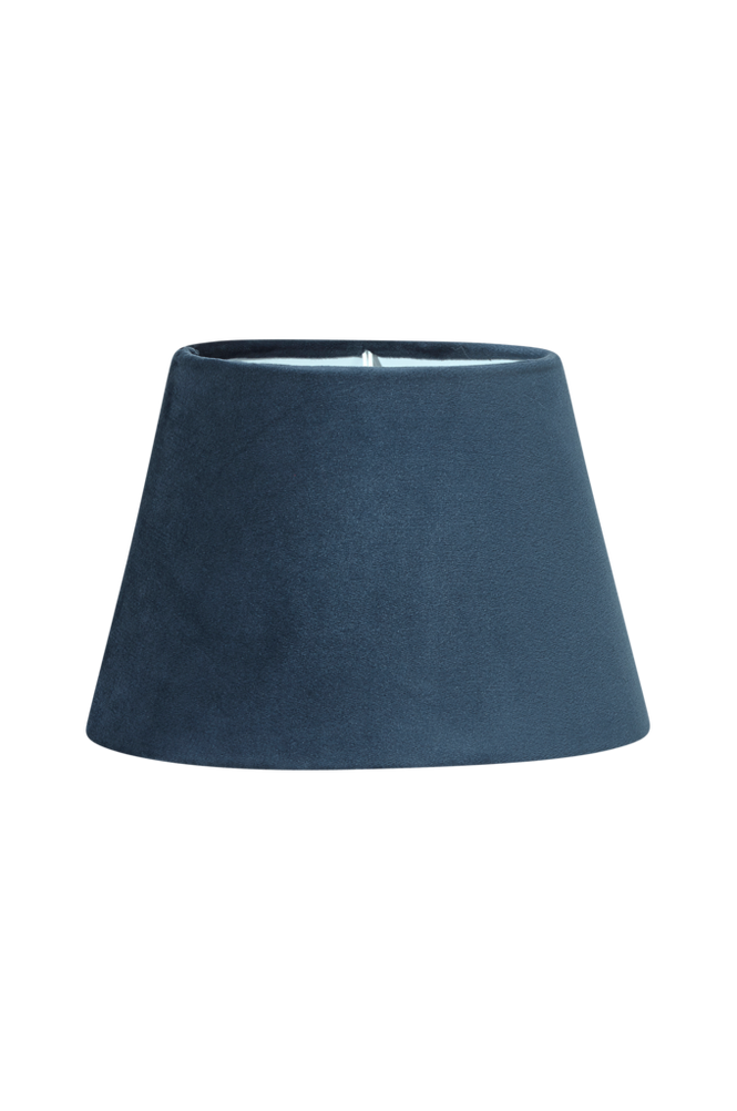 Lampskärm Oval Sammet 25 cm