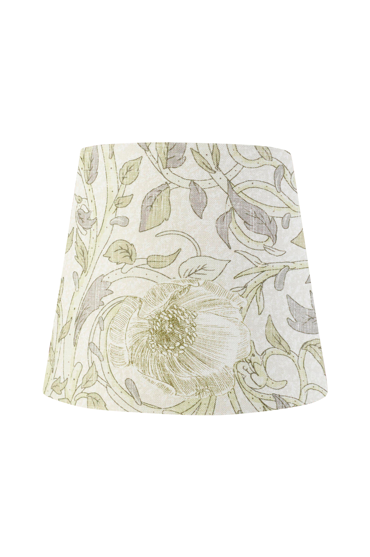 PR Home - Lampskärm Mia mönstrad 17 cm - Natur