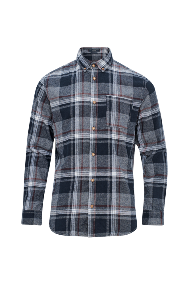 jack & jones Skjorte jprColumbo Check Shirt L/S, slim fit