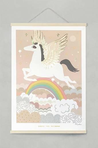 Above the rainbow 50x70 cm juliste