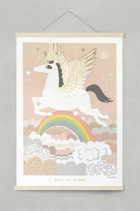 Poster Above the rainbow 50x70 cm