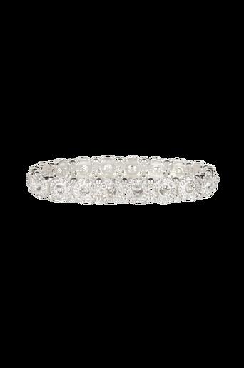 Pipol´s Bazaar Earring Gandizini Bracelet Silver -rannekoru