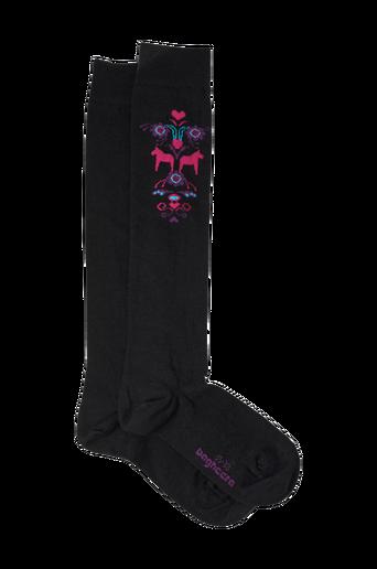 Merino Dalecarlian Socks High -sukat