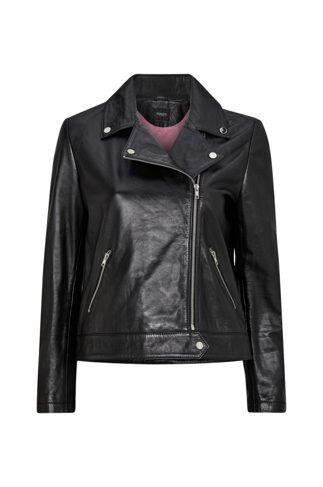 Soaked in Luxury Skindjakke Maeve Leather Jacket