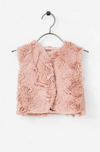 NbfNeppa Fake Fur Waistcoat -tekoturkisliivi
