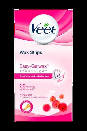 Waxstrips säärille, normaali iho, 20 kpl