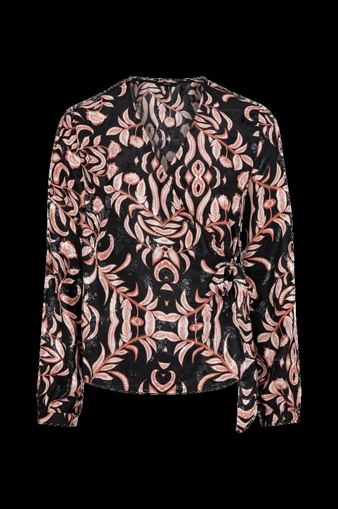 Vero Moda Slå om-bluse vmGyana LS Wrap Top