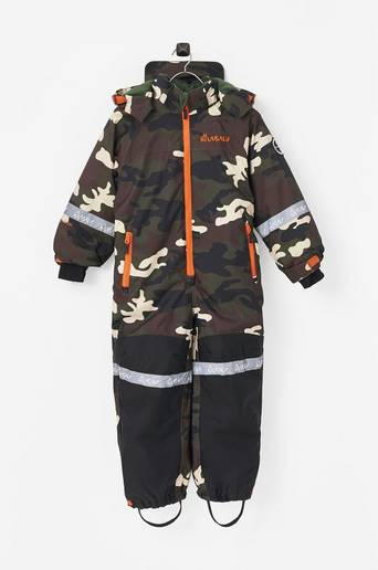 Camo Snowsuit -talvihaalari