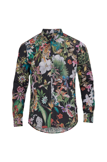 Brooks Tiger L/S Shirt -kauluspaita