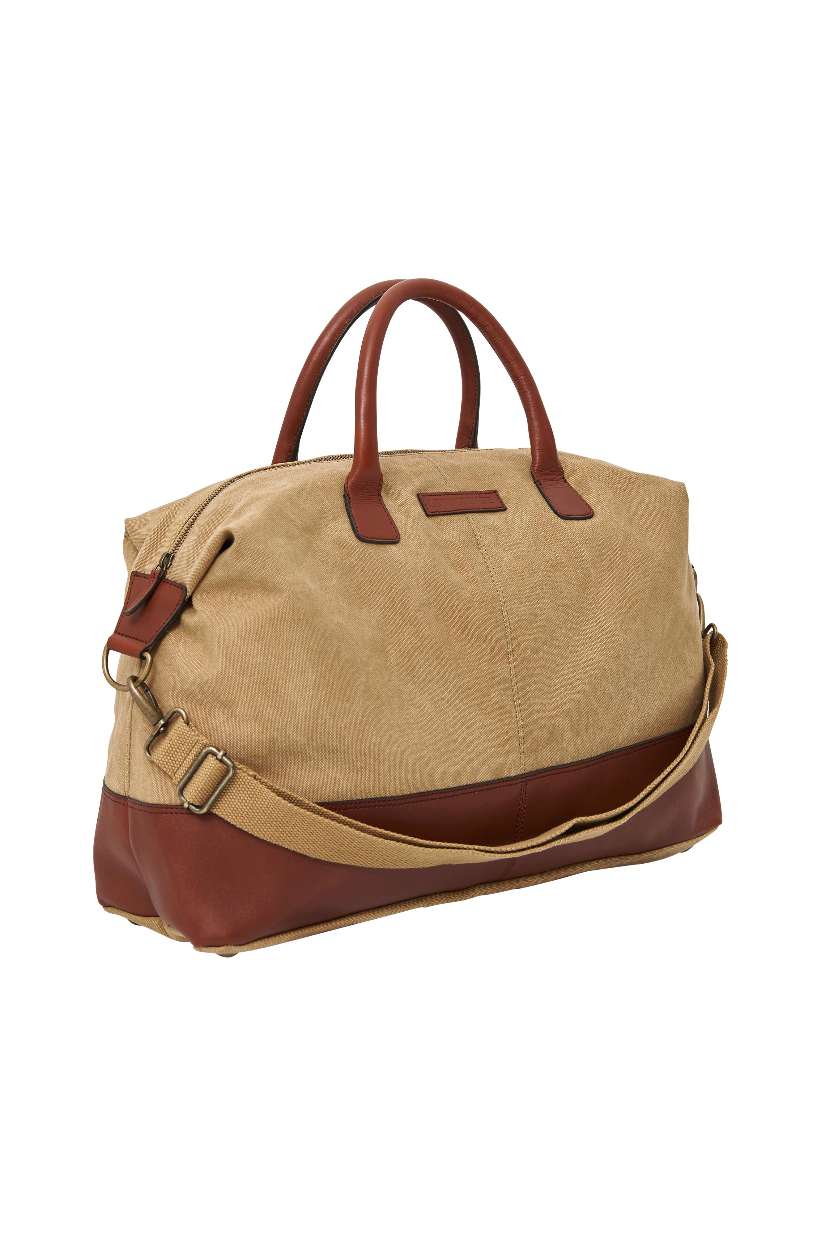 Lexington Sommerville Weekend Bag -laukku - Luonnonväri - Miehet - Ellos.fi 79985e79ee